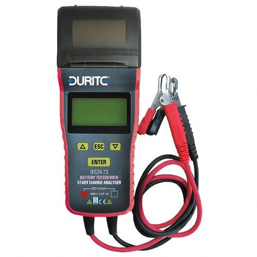 12/24V Battery Tester With Start Charge Analyzer-0-524-73